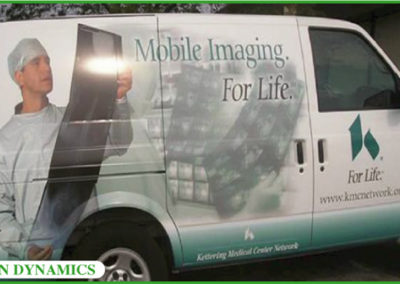 Vehicle Lettering Sign Dynamics